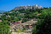 ギリシャ アテネ 古代アゴラからアクロポリスのパルテノン神殿
