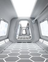 宇宙船のイメージ