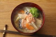 かす汁 鮭の粕汁 鮭 酒粕