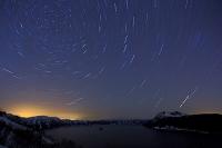 北海道 満天の星空と摩周湖