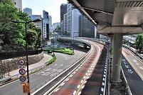 東京都 千代田区 青山通り赤坂見附陸橋