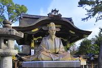 京都府 京都市 豊国神社の秀吉像