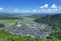 兵庫県 春の出石市街