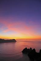 東京都 長崎展望台からの夜明け