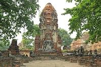 タイ アユタヤのワット・プラ・マハタート