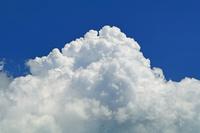 岐阜県 双六岳からの夏の雲