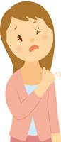 肩こり-若い女性
