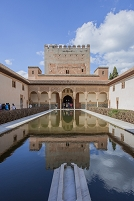 スペイン グラナダ アルハンブラ宮殿 アラヤネスの中庭(コマ...