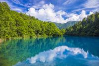 長野県 志賀高原の大沼池