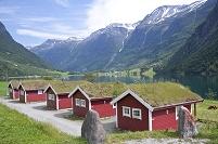 ノルウェー オルデン湖