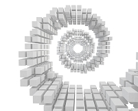 立方体の渦