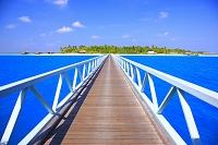 モルディブ リゾート 桟橋