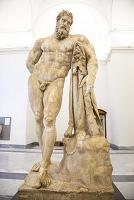 イタリア ナポリ 国立考古学博物館『ファルネーゼのヘラクレス』