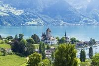 スイス ベルナーオーバーラント トゥーン湖
