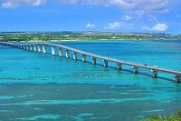 沖縄県 来間大橋と宮古島