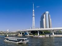 東京都 浅草 隅田川と東京スカイツリー