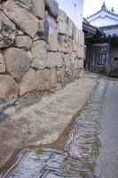 兵庫県 姫路城 排水溝