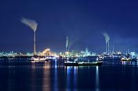山口県 周南の工場夜景