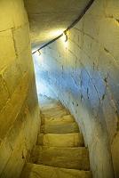 イタリア ピサの斜塔の階段