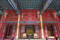 清西陵、崇陵、隆恩殿、内部