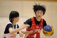 バスケットボール:3×3 日本女子代表候補 強化合宿