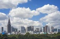 東京都 新宿の高層ビル