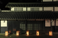 京都府 愛宕古道街道灯し