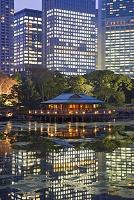 東京都 夜の浜離宮恩賜庭園