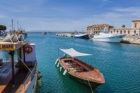 イタリア シチリア州 シラクーサ 港