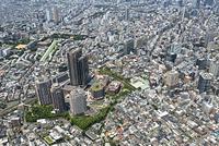 東京都 渋谷区 恵比寿周辺の空撮