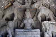 インド エローラ石窟群(ヒンドゥー教石窟) 第16窟 カイラー...