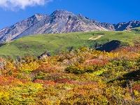 秋田県 鳥海山 紅葉