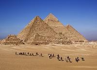 ギーザの三大ピラミッド