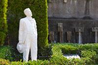 長崎県 グラバー園 ジャコモ・プッチーニ像