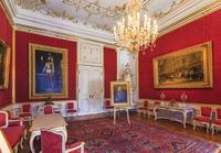 オーストリア ウィーン 王宮/シシィ博物館/謁見の間