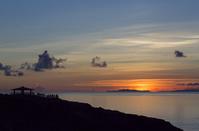 沖縄県 慶良間諸島 座間味島 女瀬の崎展望台 夕景
