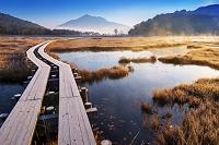 群馬県 朝の尾瀬ヶ原と燧岳