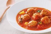 ミートボールのトマト煮