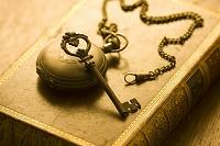 懐中時計と鍵