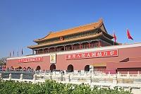 中国 天安門広場の天安門