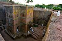 エチオピア 聖ギオルギス教会