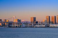 東京都 豊洲市場よりビル群