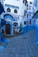 シャウエンの町並 ホテル シャウエン モロッコ