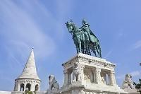 ハンガリー ブダペスト イシュトヴァーン騎馬像
