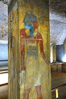 エジプト ルクソール 王家の谷 王の墓の壁画