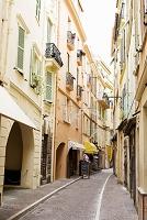 モナコの路地