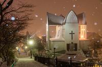 北海道 冬の函館聖ヨハネ教会