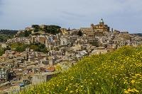 イタリア シチリア島 ピアッツァ・アルメリーナの町並み