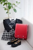 ランドセルと入学の衣装