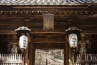 徳島県 熊谷寺 中門 多聞天(毘沙門天)(左)と持国天(右)